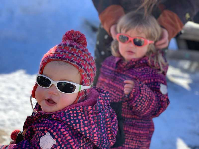 Kids in de Alpen